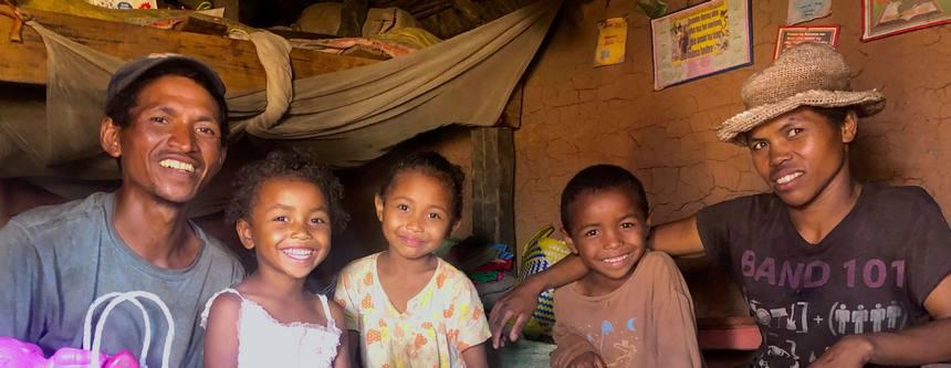Famille malgache